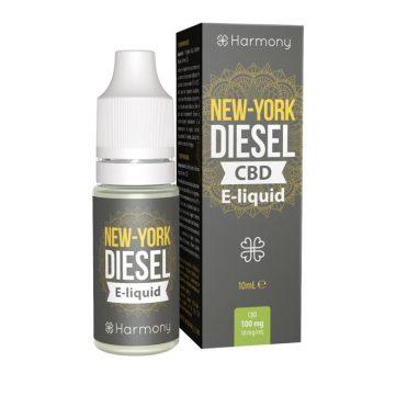 New-York Diesel - naraven in pristen ter intenziven okus konoplje s sadnim tonom zrele grenivke ter podtonom limete za osvežitev