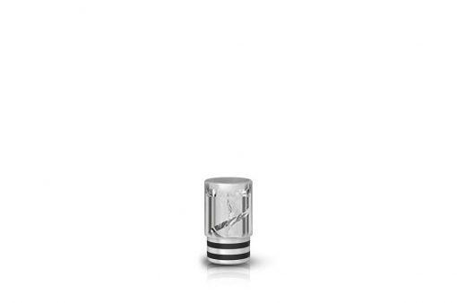 eGo AIO spiralni Drip Tip ustnik - prozorna