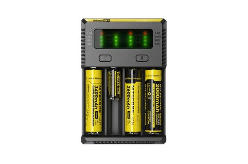 Kvaliteten polnilec za baterije Nitecore i4 V2