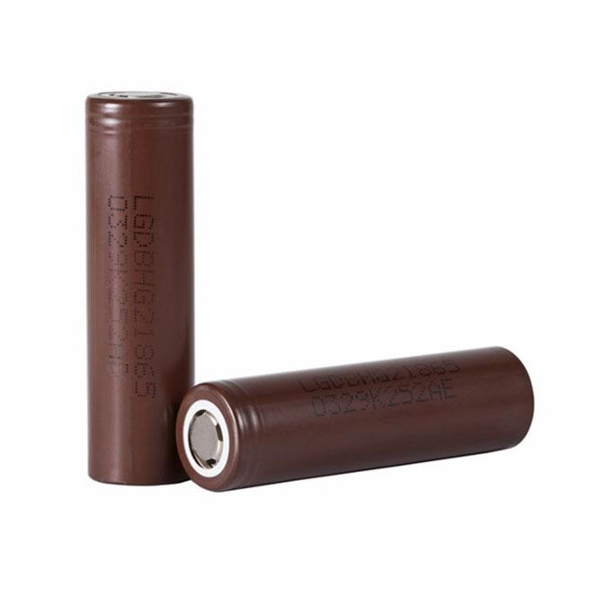 Izjemno kakovostna in zanesljiva LG HG2 18650 baterija kapacitete 3000mAh