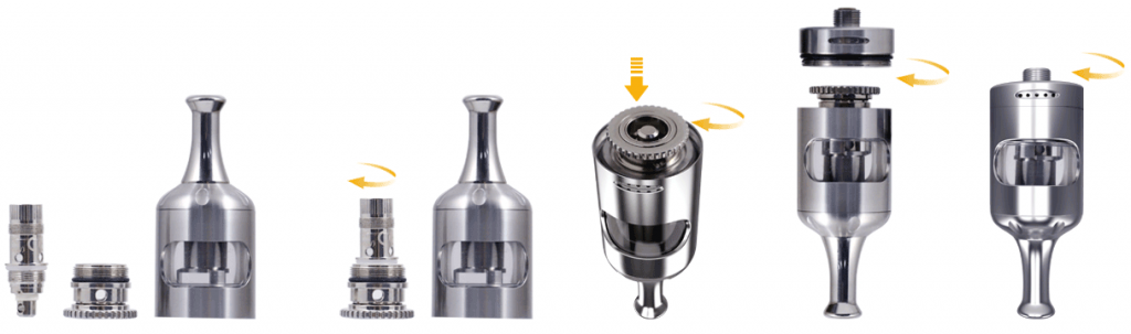 Aspire Zelos 50W 2.0 komplet dimenzije elektronska cigareta e-tekočina e-cigareta e-kajenje menjava grelne ogrevalne glave
