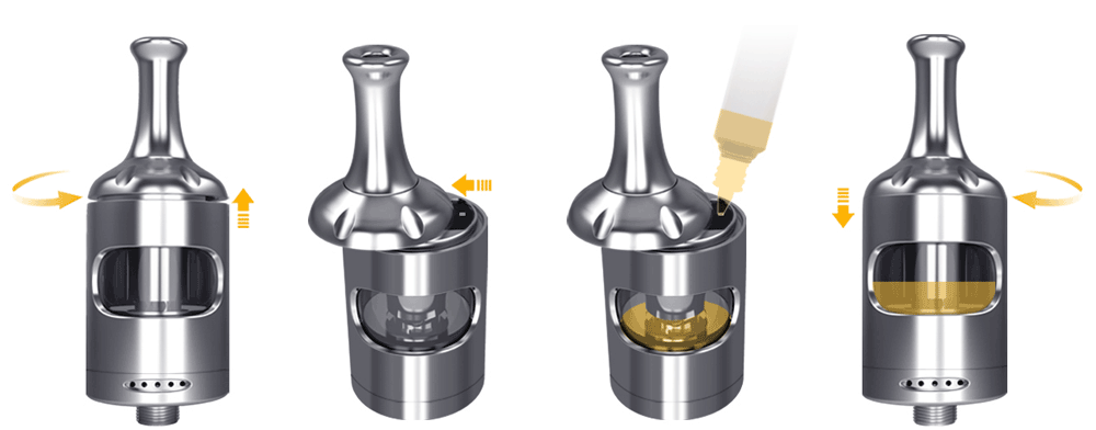 Aspire Zelos 50W 2.0 komplet dimenzije elektronska cigareta e-tekočina e-cigareta e-kajenje