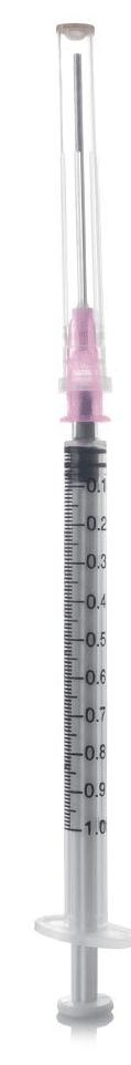 brizga 5ml 1ml injekcija inekcija topa igla