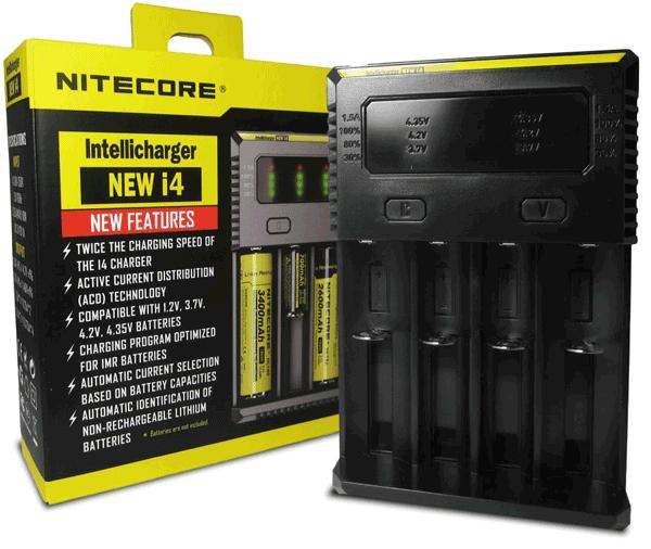 nitecore intellicharger i4 v2 univerzalni polnilec baterij