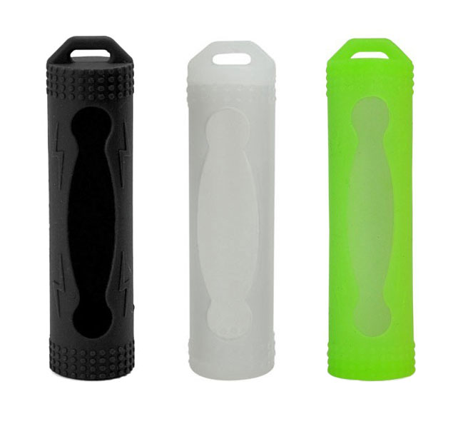 Silikonska zaščita za 18650 baterijo