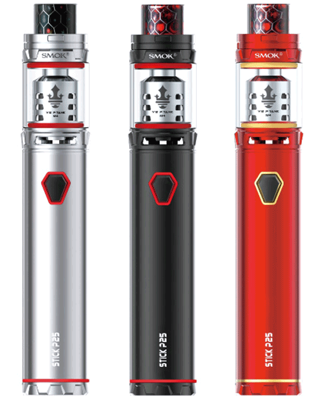 smok prince p25 komplet elektronska e-cigareta barve