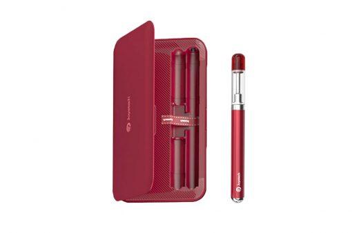 Priročen in enostaven komplet eRoll Mac s prenosno baterijo v rdeči barvi