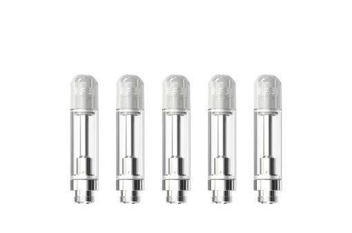 Grelne glave za e-cigareto eRoll Mac v srebrni barvi