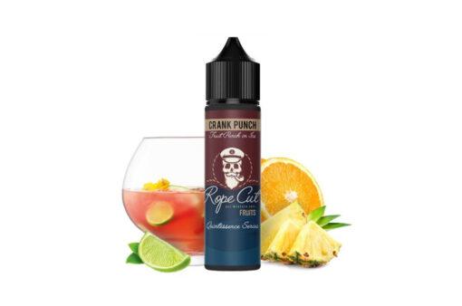 Crank Punch - Poletna kombinacija sadja stisnjenega v sok z veliko ledu - pomaranče, ananas, limete, mint