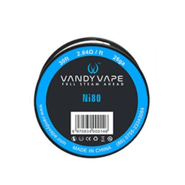Vandy Vape Ni80 grelna žica za izdelavo tuljav