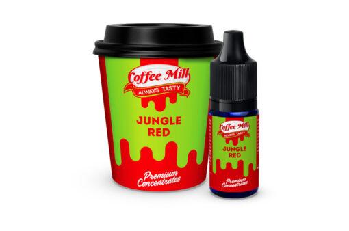 Jungle Red - Zbirka rdečih virov energije iz narave, kot so granatno jabolko, grenivka, pomaranča in številne rdeče jagode, ki vas poživijo.